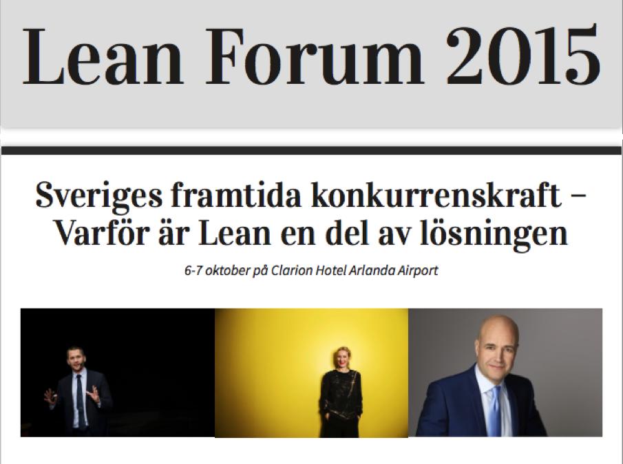 Lean Forum 2015